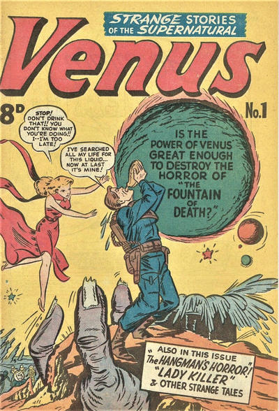 Cover for Venus (Magazine Management, 1952 ? series) #1