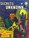 Cover for Secrets of the Unknown (Alan Class, 1962 series) #72