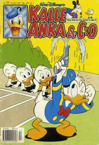 Cover Thumbnail for Kalle Anka & C:o (Serieförlaget [1980-talet], 1992 series) #17/1997