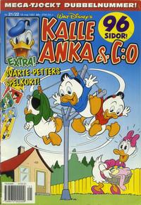 Cover Thumbnail for Kalle Anka & C:o (Serieförlaget [1980-talet], 1992 series) #21-22/1997