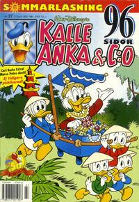 Cover Thumbnail for Kalle Anka & C:o (Serieförlaget [1980-talet], 1992 series) #27/1997