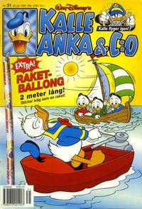 Cover Thumbnail for Kalle Anka & C:o (Serieförlaget [1980-talet], 1992 series) #31/1997