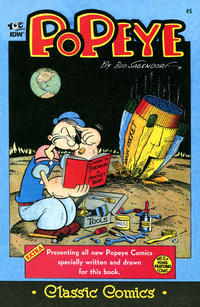 Cover Thumbnail for Classic Popeye (IDW, 2012 series) #5