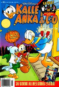 Cover Thumbnail for Kalle Anka & C:o (Egmont, 1997 series) #43/2000