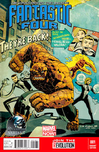 Cover for Fantastic Four (Marvel, 2013 series) #1