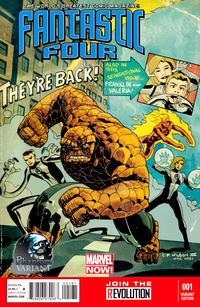 Cover Thumbnail for Fantastic Four (Marvel, 2013 series) #1 [Phantom Variant]