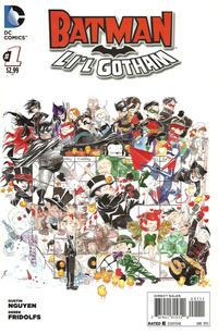 Cover Thumbnail for Batman: Li'l Gotham (DC, 2013 series) #1 [Direct Sales]