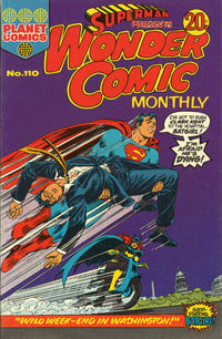 Cover Thumbnail for Superman Presents Wonder Comic Monthly (K. G. Murray, 1965 ? series) #110