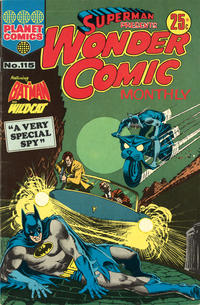 Cover Thumbnail for Superman Presents Wonder Comic Monthly (K. G. Murray, 1965 ? series) #115
