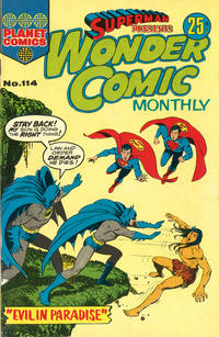 Cover Thumbnail for Superman Presents Wonder Comic Monthly (K. G. Murray, 1965 ? series) #114