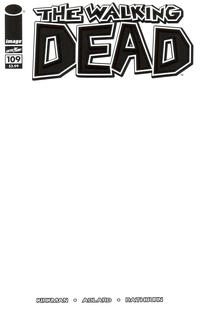 Cover Thumbnail for The Walking Dead (Image, 2003 series) #109 [Blank Cover]