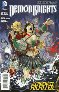Cover Thumbnail for Demon Knights (DC, 2011 series) #19