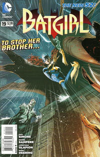 Cover Thumbnail for Batgirl (DC, 2011 series) #19