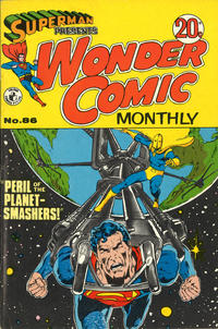 Cover Thumbnail for Superman Presents Wonder Comic Monthly (K. G. Murray, 1965 ? series) #86