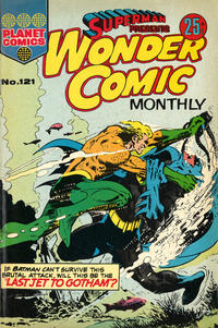Cover Thumbnail for Superman Presents Wonder Comic Monthly (K. G. Murray, 1965 ? series) #121