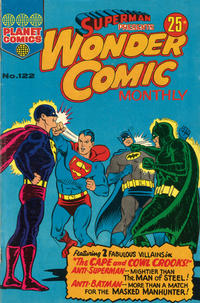 Cover Thumbnail for Superman Presents Wonder Comic Monthly (K. G. Murray, 1965 ? series) #122