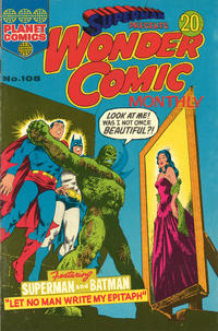 Cover Thumbnail for Superman Presents Wonder Comic Monthly (K. G. Murray, 1965 ? series) #108