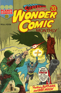 Cover Thumbnail for Superman Presents Wonder Comic Monthly (K. G. Murray, 1965 ? series) #109