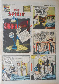 Cover Thumbnail for The Spirit (Register and Tribune Syndicate, 1940 series) #7/22/1951