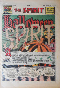 Cover Thumbnail for The Spirit (Register and Tribune Syndicate, 1940 series) #10/29/1950