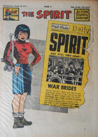 Cover Thumbnail for The Spirit (Register and Tribune Syndicate, 1940 series) #3/14/1948
