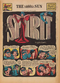 Cover Thumbnail for The Spirit (Register and Tribune Syndicate, 1940 series) #1/19/1947