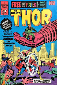 Cover Thumbnail for The Mighty Thor (Newton Comics, 1976 series) #2