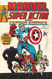 Cover Thumbnail for Marvel Super Action (Yaffa / Page, 1977 series) #1