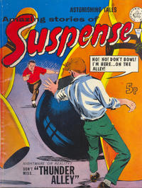 Cover Thumbnail for Amazing Stories of Suspense (Alan Class, 1963 series) #112