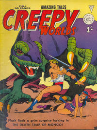 Cover Thumbnail for Creepy Worlds (Alan Class, 1962 series) #85
