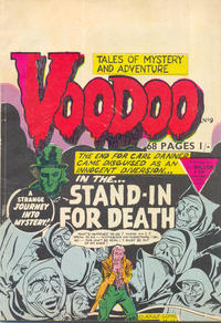 Cover Thumbnail for Voodoo (L. Miller & Son, 1961 series) #9