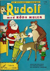 Cover Thumbnail for Rudolf med röda mulen (Centerförlaget, 1962 series)