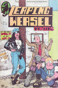 Cover Thumbnail for Leaping Weasel Comics (Sunshine Distributors, 1987 series) #2