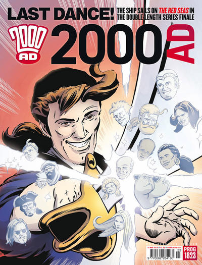 Cover for 2000 AD (Rebellion, 2001 series) #1823