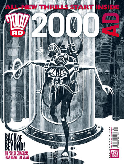 Cover for 2000 AD (Rebellion, 2001 series) #1824