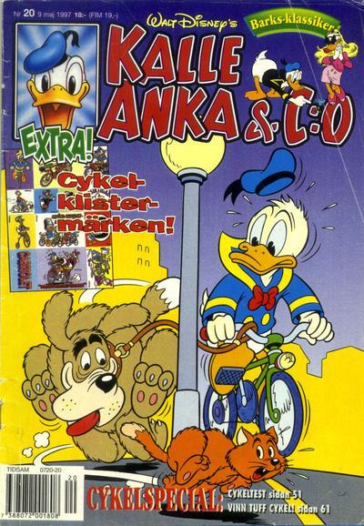 Cover for Kalle Anka & C:o (Serieförlaget [1980-talet], 1992 series) #20/1997