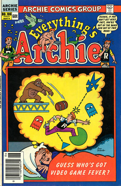 Cover for Everything's Archie (Archie, 1969 series) #106