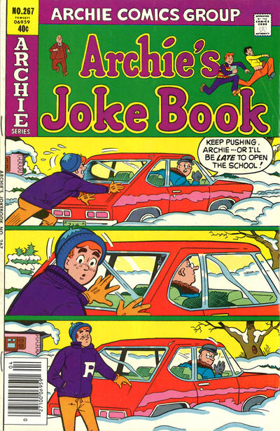 Cover for Archie's Joke Book Magazine (Archie, 1953 series) #267