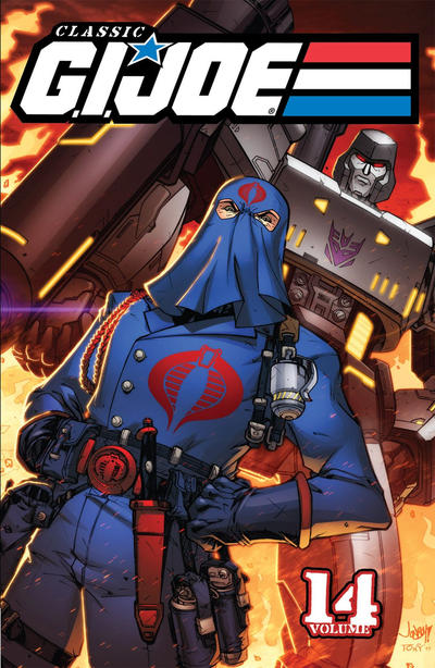 Cover for Classic G.I. Joe TPB (IDW, 2009 series) #14 [First Printing]