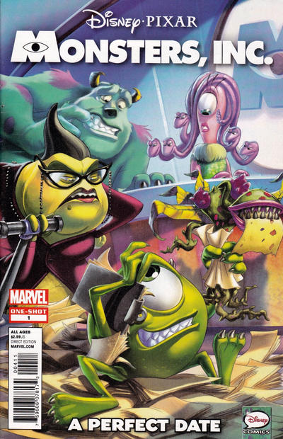 Cover for Monsters, Inc.: A Perfect Date (Marvel, 2013 series) #1