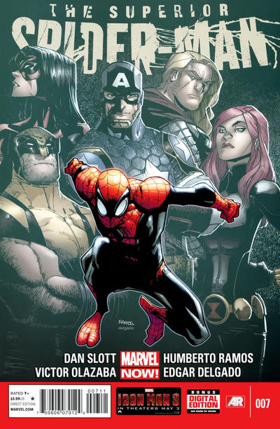 Cover for Superior Spider-Man (Marvel, 2013 series) #7