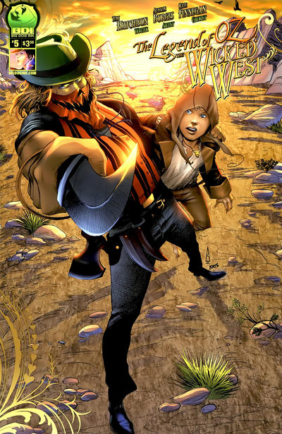 Cover for Legend of Oz: The Wicked West (Big Dog Ink, 2012 series) #5