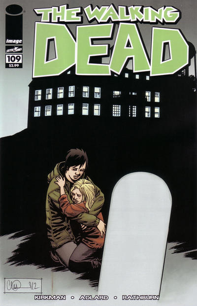 Cover for The Walking Dead (Image, 2003 series) #109 [Blank Cover]
