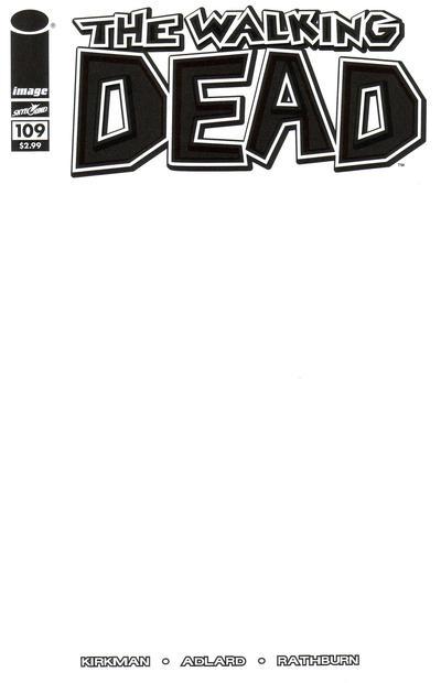 Cover for The Walking Dead (Image, 2003 series) #109 [Charlie Adlard Standard Cover]