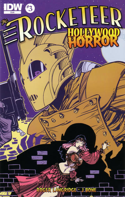 Cover for The Rocketeer: Hollywood Horror (IDW, 2013 series) #3