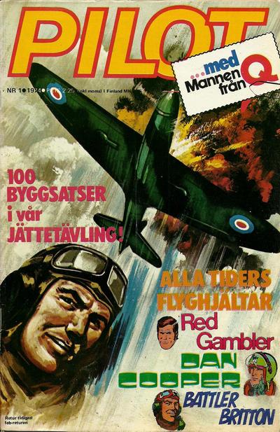 Cover for Pilot (Semic, 1970 series) #1/1974