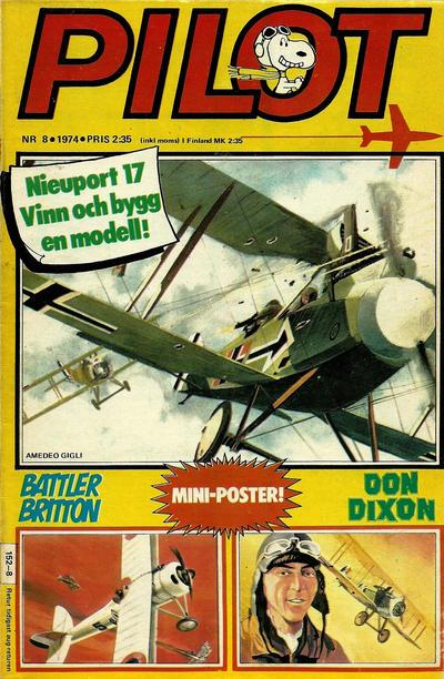 Cover for Pilot (Semic, 1970 series) #8/1974