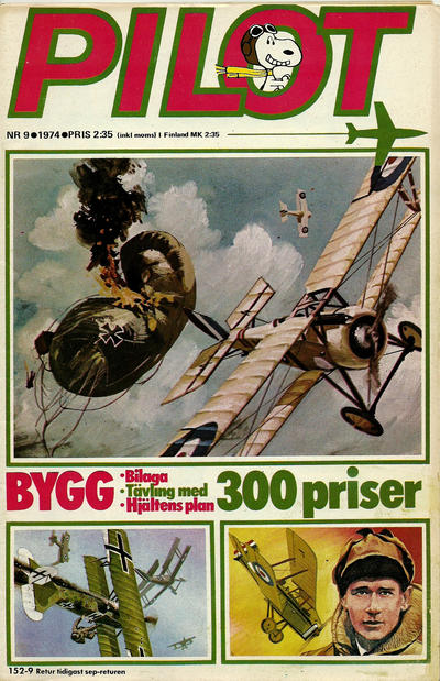 Cover for Pilot (Semic, 1970 series) #9/1974
