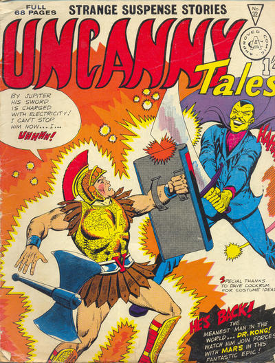 Cover for Uncanny Tales (Alan Class, 1963 series) #32