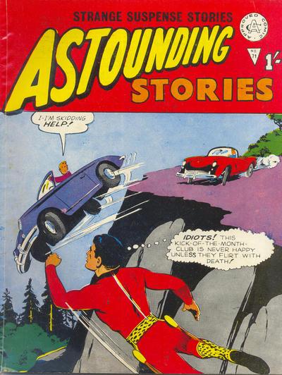 Cover for Astounding Stories (Alan Class, 1966 series) #71